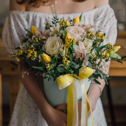 Solar box: flowers to order Flowwow