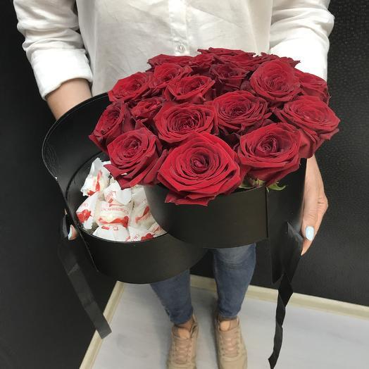Розы с Сюрпризом: букеты цветов на заказ Flowwow