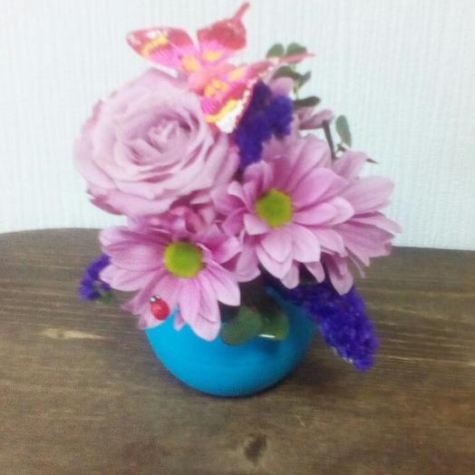 Голубая дымка: букеты цветов на заказ Flowwow