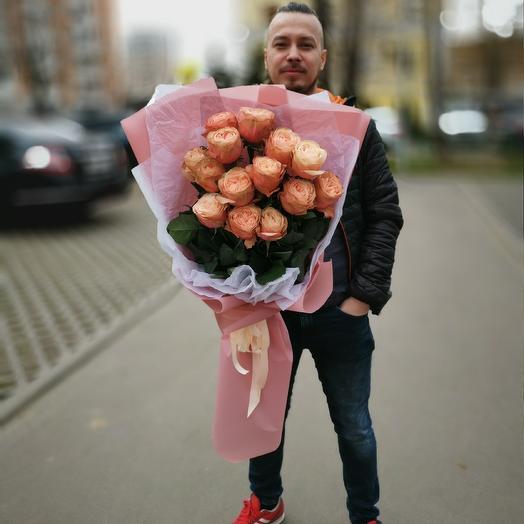 Букнт кахал: букеты цветов на заказ Flowwow