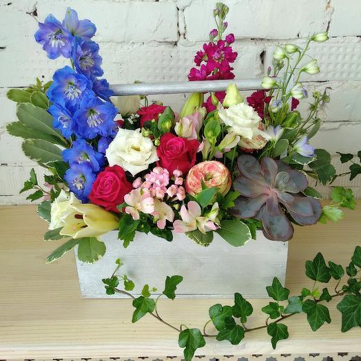 Ягодный блюз: букеты цветов на заказ Flowwow