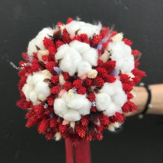 """Букет невесты """"Клюква"""": букеты цветов на заказ Flowwow"""