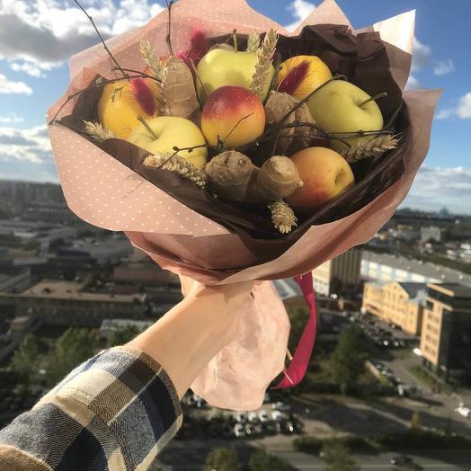 Овощной букет ко Дню учителя: букеты цветов на заказ Flowwow