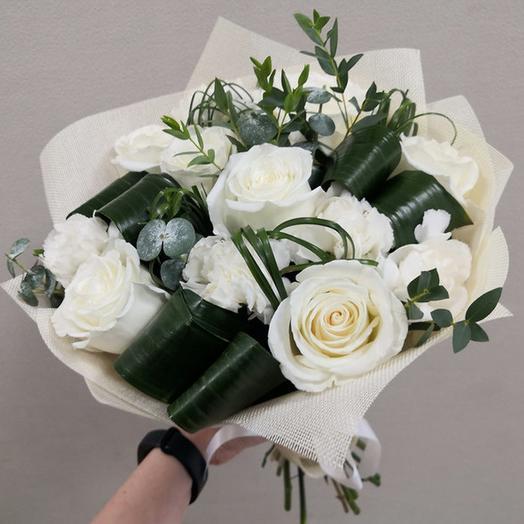 БУКЕТ БЕСКОНЕЧНАЯ НЕЖНОСТЬ: букеты цветов на заказ Flowwow