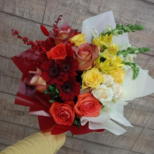 """Букет """"настроение"""": букеты цветов на заказ Flowwow"""