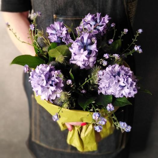 Цвет волшебства: букеты цветов на заказ Flowwow