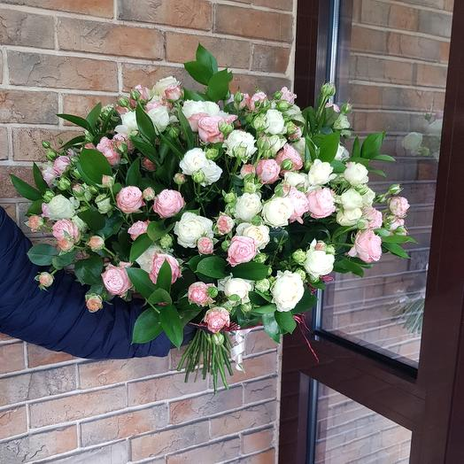 Розы кустовая микс: букеты цветов на заказ Flowwow
