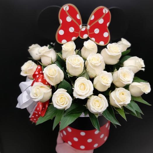 Микки️: букеты цветов на заказ Flowwow