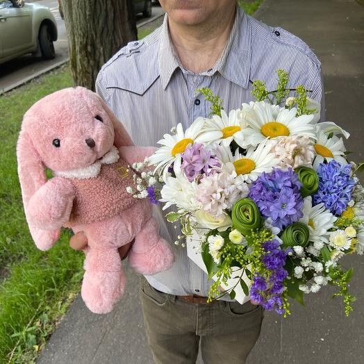 Комбо 2 Яркая любовь: букеты цветов на заказ Flowwow