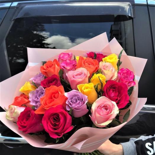 Роза кения микс