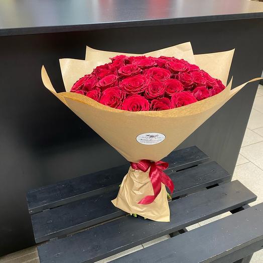 Букет из 51 роз