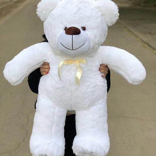 Плюшевий ведмедик 100 см білий