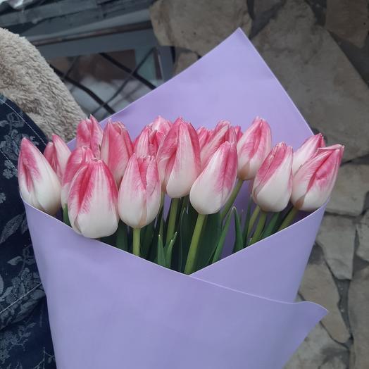 Тюльпаны нежные