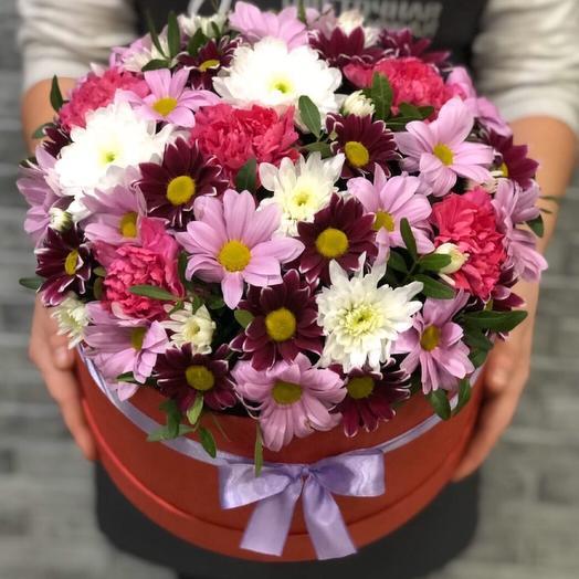 Цветы в коробке 0077717