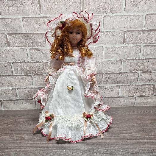 Кукла коллекционная из керамики