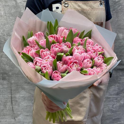 Букет нежных Тюльпанов