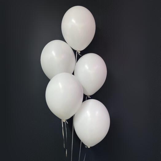 5 белых шаров