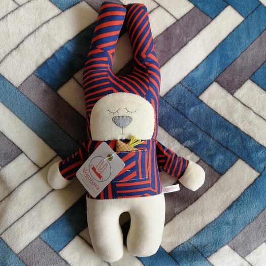 Дизайнерская игрушка VORONAYA TOYS BIG Зайчик 040502