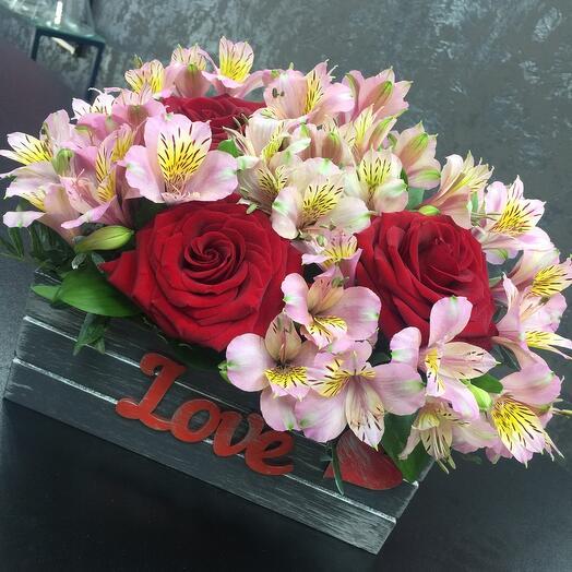 Ящик цветчный