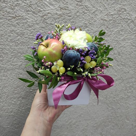Фруктово-Цветочная коробочка