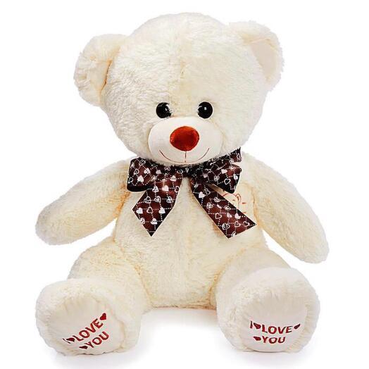 Мягкая игрушка «Медведь Топтыжка» 70 см, цвет молочный