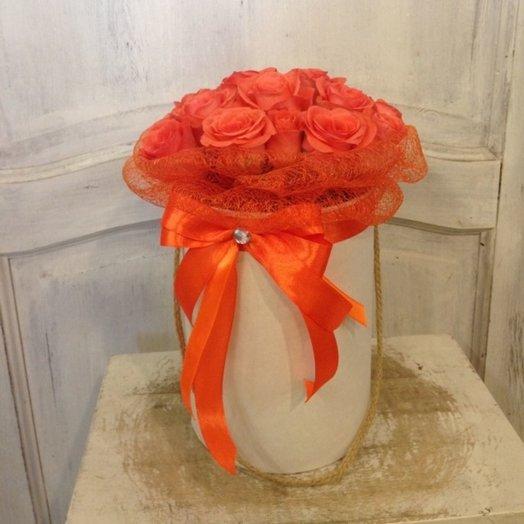 Коробка вау!: букеты цветов на заказ Flowwow