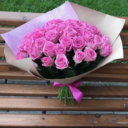 51 роза любви для неё