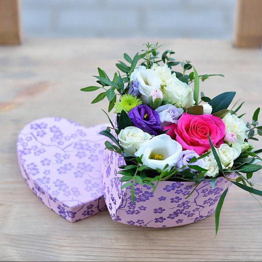 Сердце от всего сердца: букеты цветов на заказ Flowwow