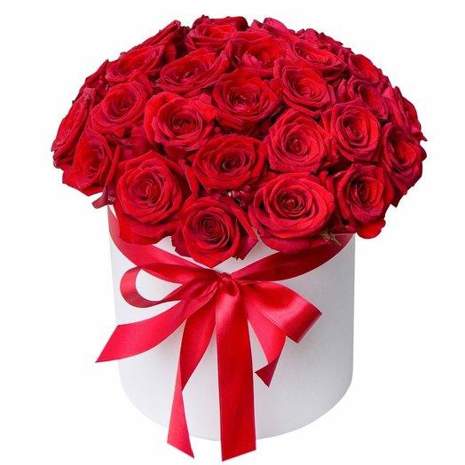 Lady in red: букеты цветов на заказ Flowwow