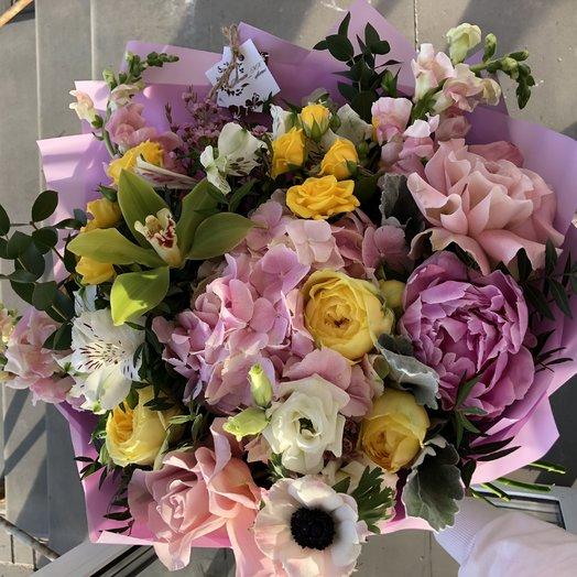 Love pink: букеты цветов на заказ Flowwow