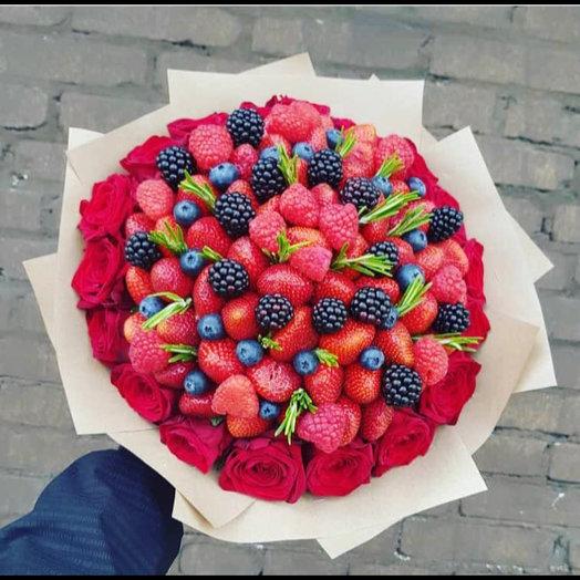 Букет фруктовый : букеты цветов на заказ Flowwow
