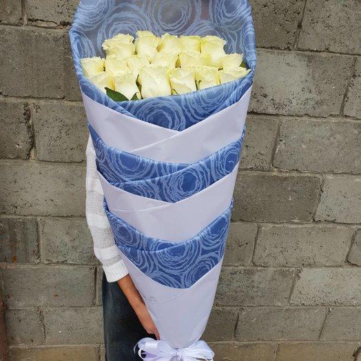 Букет метровых роз: букеты цветов на заказ Flowwow