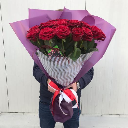 Букет роз Dark Queen: букеты цветов на заказ Flowwow