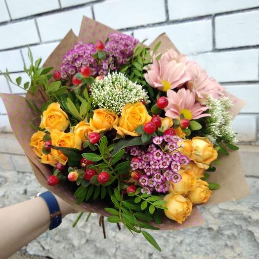 """Букет """"На закате солнца"""": букеты цветов на заказ Flowwow"""