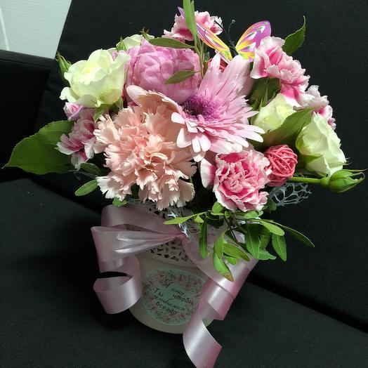 Я хочу, чтобы ты улыбалась всегда!: букеты цветов на заказ Flowwow