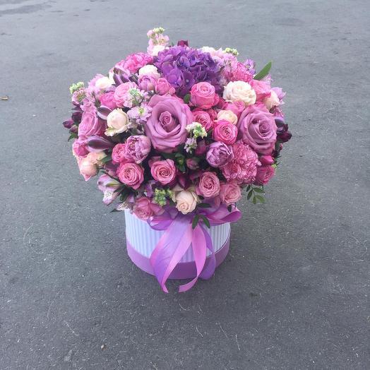Чудесный сюрприз: букеты цветов на заказ Flowwow