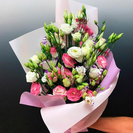 Эустома 19шт: букеты цветов на заказ Flowwow