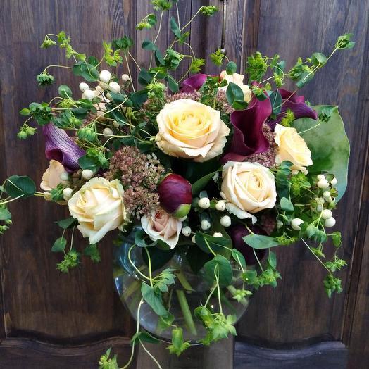 Букет-растрепыш: букеты цветов на заказ Flowwow