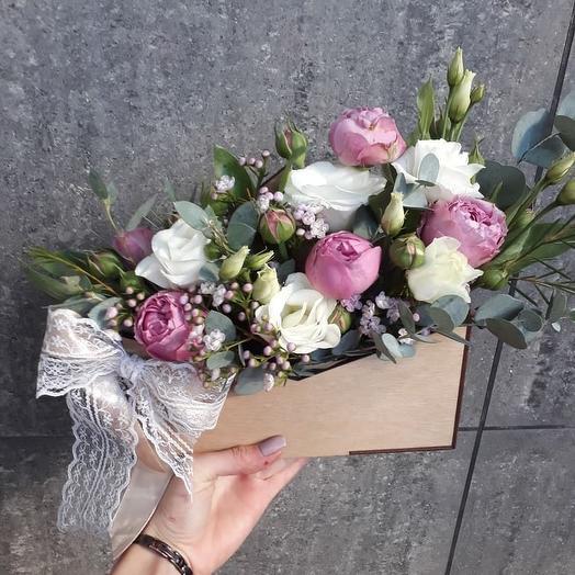 Идеальный вариант: букеты цветов на заказ Flowwow