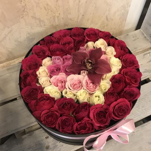 Для тебя моё сердце: букеты цветов на заказ Flowwow
