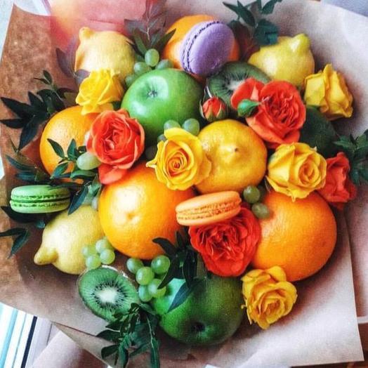 Букет из фруктов «Рай»: букеты цветов на заказ Flowwow