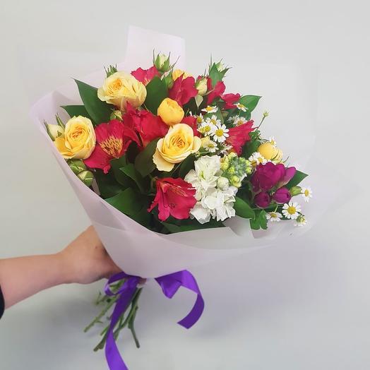 Легкий аромат: букеты цветов на заказ Flowwow