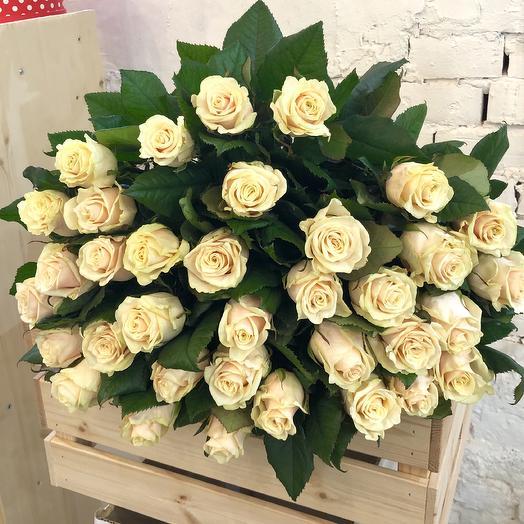 Bouquet of cream roses Taleya