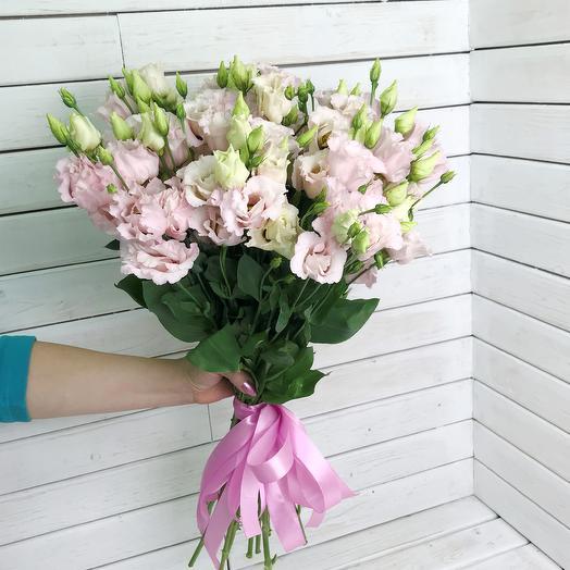 Букет из Эустомы 21 шт: букеты цветов на заказ Flowwow