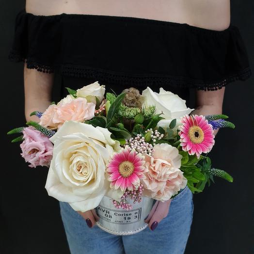 Летнее ведерко: букеты цветов на заказ Flowwow