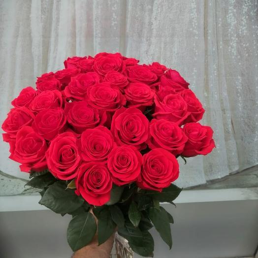 49 алых роз: букеты цветов на заказ Flowwow
