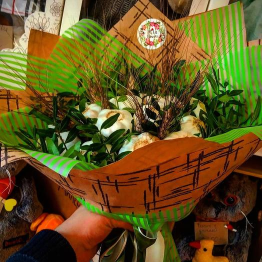 Букет с чесноком: букеты цветов на заказ Flowwow