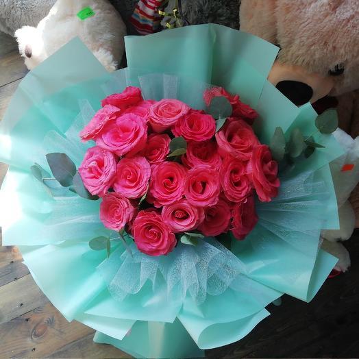 Коралловый винтаж: букеты цветов на заказ Flowwow