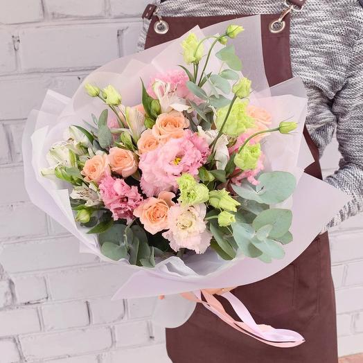 Осенний блюз: букеты цветов на заказ Flowwow