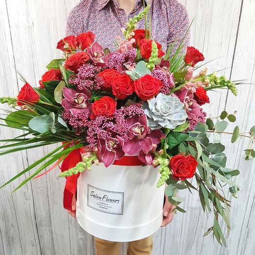 Модена Мега: букеты цветов на заказ Flowwow